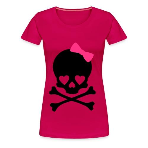 T-shirt Skull  - Maglietta Premium da donna