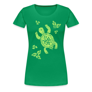 Indian Turtle T-Shirt - Frauen Premium T-Shirt