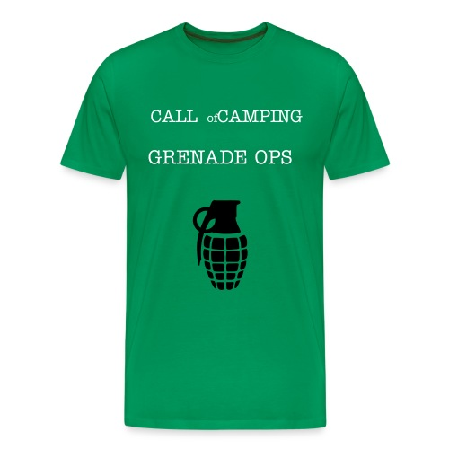 Call of Camping - Men's Premium T-Shirt