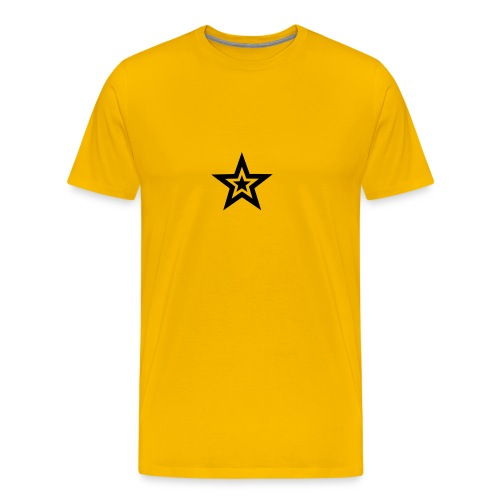 STAR - Premium-T-shirt herr