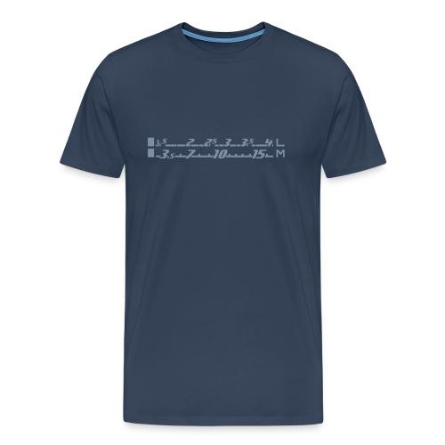 Radioskala - Männer Premium T-Shirt