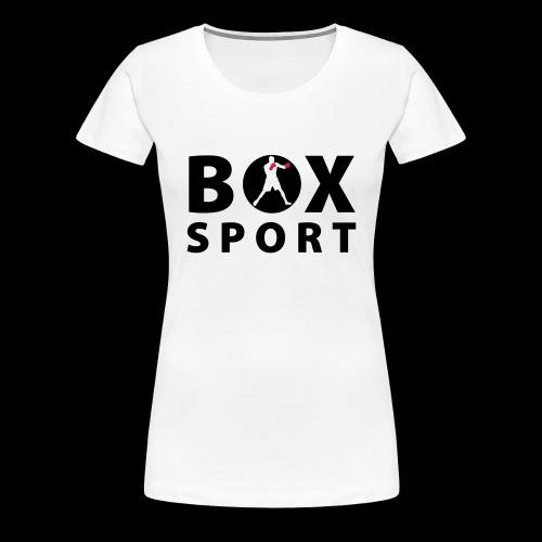 Damen Boxshirt7 - Frauen Premium T-Shirt
