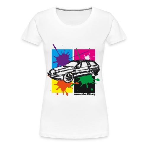 T-shirt basique femme - Gribouille - T-shirt Premium Femme
