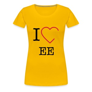 I love double e Frauen - Frauen Premium T-Shirt