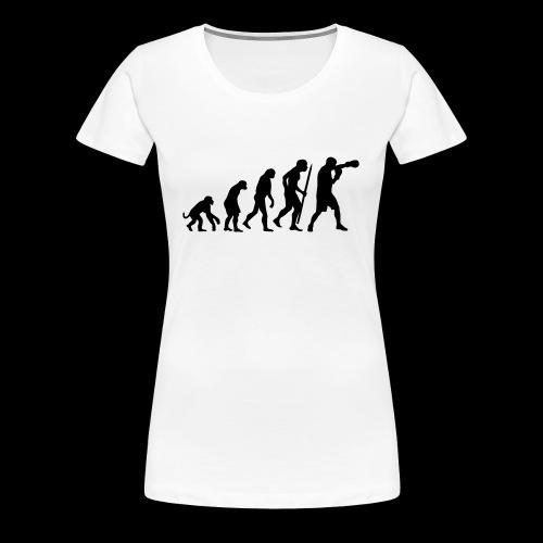Damen Boxshirt2 - Frauen Premium T-Shirt