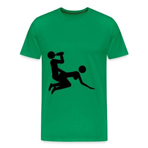 fest trøjen - Herre premium T-shirt