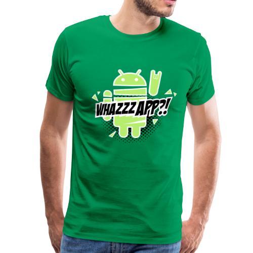 Paranoid Android rocks T-shirts - Men's Premium T-Shirt