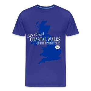 50 Great Coastal Walks Of The British Isles Vol. 2 - Men's Premium T-Shirt