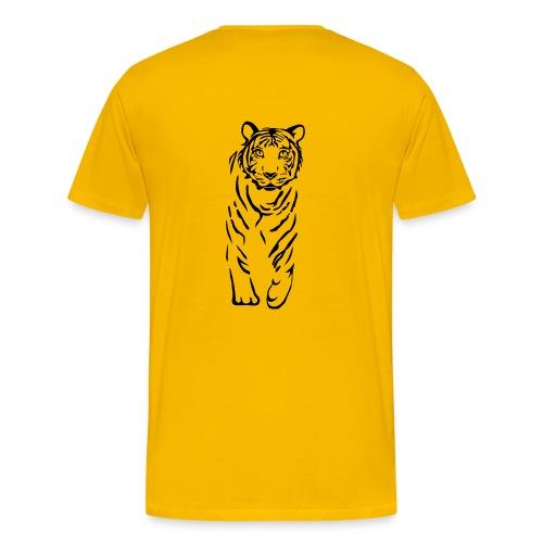 Shirt Tiger - Männer Premium T-Shirt