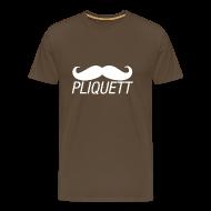 T-Shirts ~ Men's Premium T-Shirt ~ MEN'S - PLIQUETT Moustache