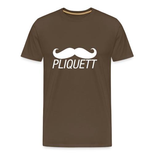MEN'S - PLIQUETT Moustache - Men's Premium T-Shirt
