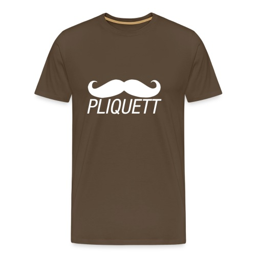 MEN'S - PLIQUETT Moustache - Men's Premium T-Shirt