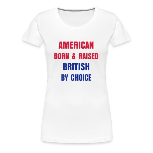 AMERICAN BRITISH - Women's Premium T-Shirt