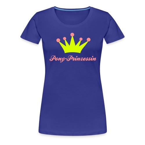 Pony Prinzessin - Frauen Premium T-Shirt