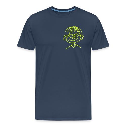 Männer T-Shirt Motiv vorne - Männer Premium T-Shirt