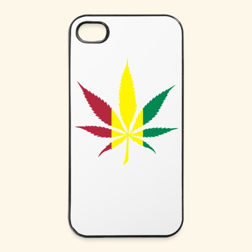 Cannabis flag - Coque rigide iPhone 4/4s