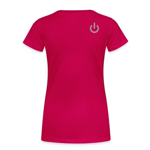 Geek female - Women's Premium T-Shirt