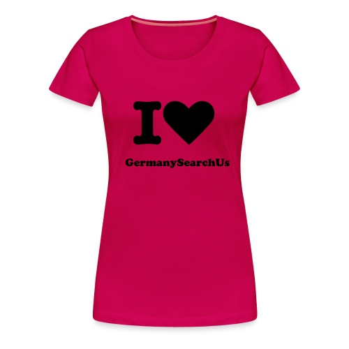 I love GermanySearchUs Girls  - Frauen Premium T-Shirt