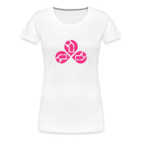 Flower 4G - Frauen Premium T-Shirt