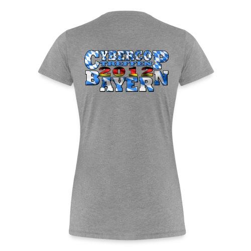 CC-Treffen 2012 Damen grau - Frauen Premium T-Shirt