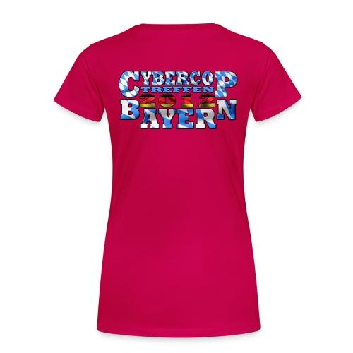 CC-Treffen Frauen rot - Frauen Premium T-Shirt