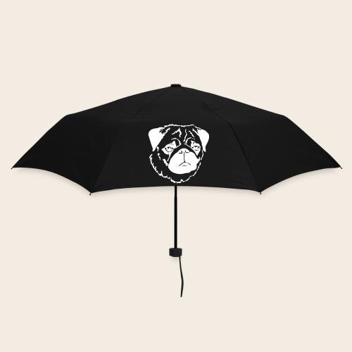 Mops Schirm - Regenschirm (klein)