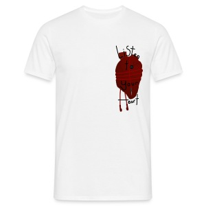 ListenToYourHeart White - Men's T-Shirt