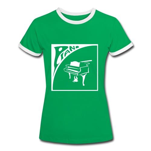 Pianissimo - Frauen Kontrast-T-Shirt