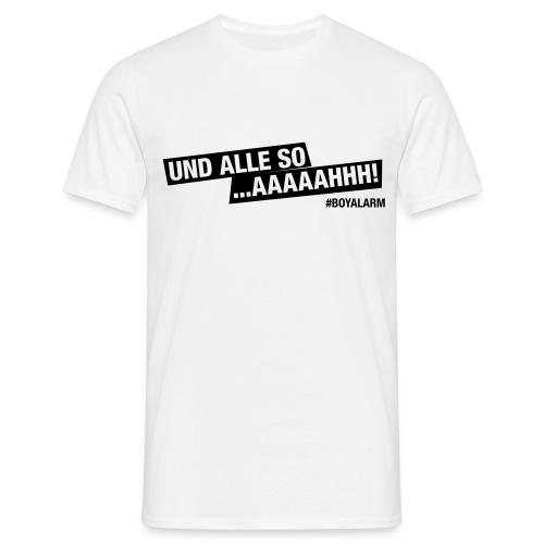 AAAHHH - T-Shirt (m) - Männer T-Shirt