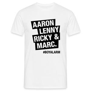 AARON, LENNY, RICKY & MARC - T-Shirt (m) - Männer T-Shirt
