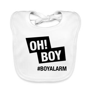 OH BOY - Babylätzchen - Baby Bio-Lätzchen