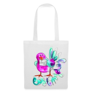 Tote Bag - Rave bird - Tote Bag
