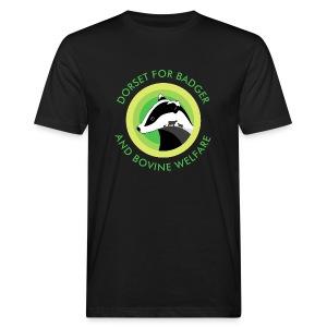 Dorset for Bagder and Bovine Welfare (Logo) - Men's Organic T-shirt