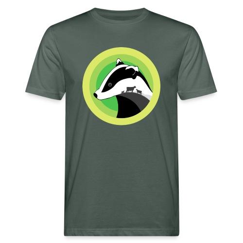 Dorset for Bagder and Bovine Welfare - Men's Organic T-Shirt