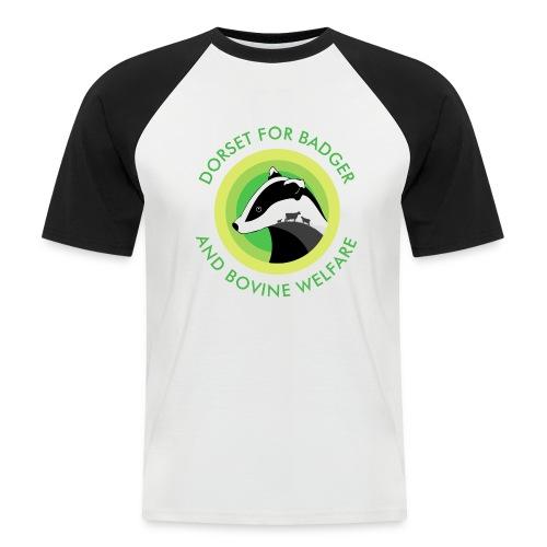 Dorset for Bagder and Bovine Welfare (Logo) - Men's Baseball T-Shirt