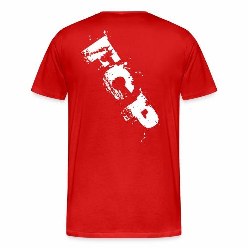 FCP Letters (Männer T-Shirt, Schrift: weiß) - Männer Premium T-Shirt
