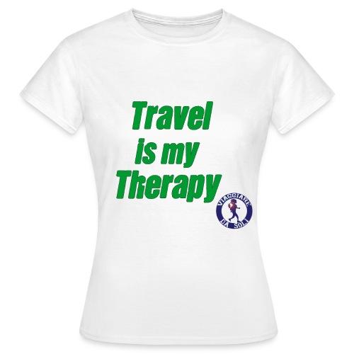 T-shirt b&c Travel is my Therapy - Maglietta da donna