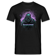 T-Shirts ~ Men's T-Shirt ~ Violet Power Gorilla - Color Choice