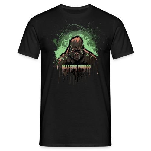 Green Mean Gorilla - Color Choice - Men's T-Shirt