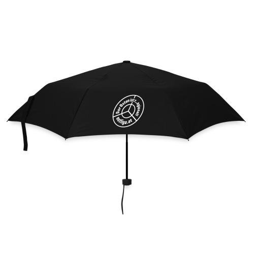 Faltbarer Wasserabweiser - Regenschirm (klein)