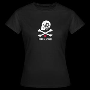 ~ Frei & Willig ~ - Frauen T-Shirt