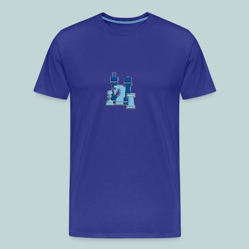 Blaue Figurengruppe - Männer Premium T-Shirt