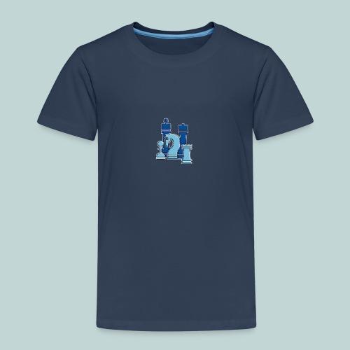 Blaue Figurengruppe - Kinder Premium T-Shirt