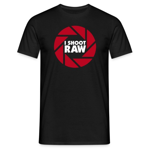 I shoot RAW 2 - Männer T-Shirt