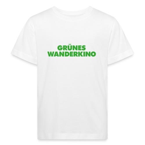 Kinder-Bio-Kinoshirt weiß - Kinder Bio-T-Shirt