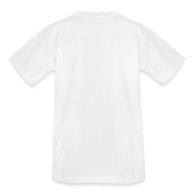 Shirt with a big T