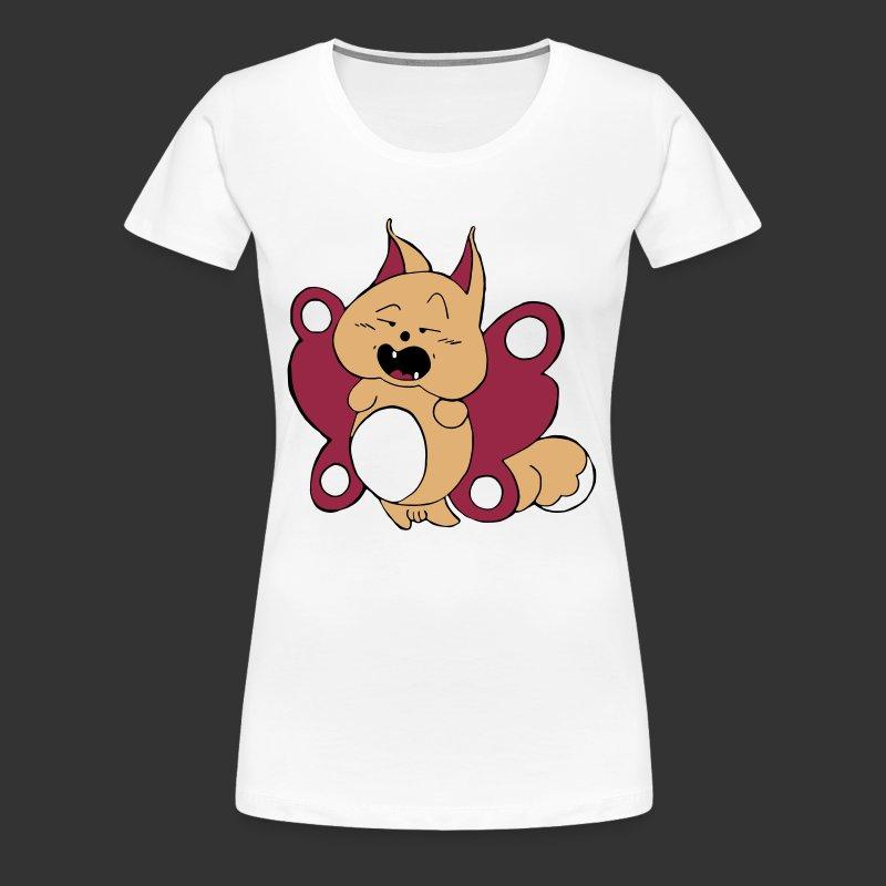 Papicureuil pour fond blanc - T-shirt Premium Femme