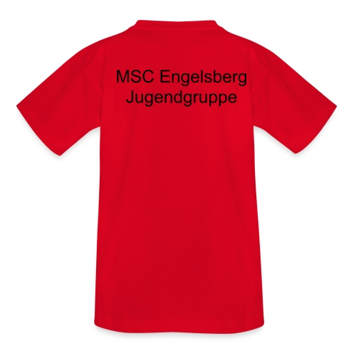 MSC Jugendgruppe - Teenager T-Shirt