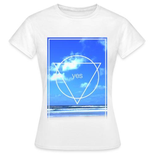 ▼beach▼ - Frauen T-Shirt