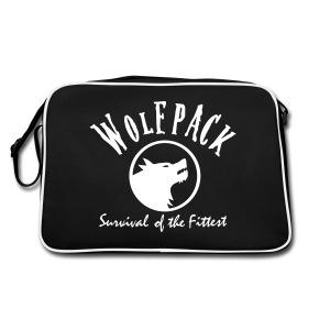 Wolf Bag - Retro Bag